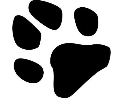 Pfoten Aufkleber Tatze Hund Katze Plot4u