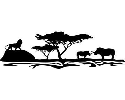 Afrika wandtattoo l we plot4u for Wandtattoo afrika