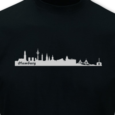 T-Shirt Hamburg Skyline T-Shirt