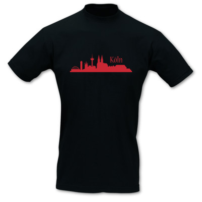 T-Shirt Köln Skyline