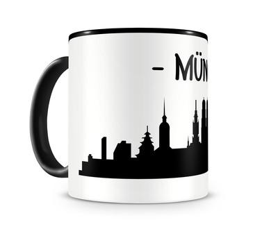 Freizeittasche München Skyline in 4 Farben Umhängetasche  4 Farben 40x30x10cm