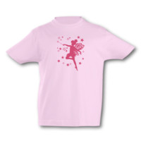 Kinder T-Shirt Fee Kinder T-Shirt Modellnummer 000580-906-462  pink/fuchsia
