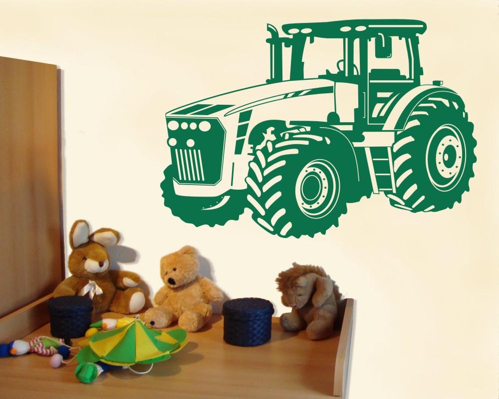 Wandtattoo Trecker Traktor Kinderzimmer Deko XXXLAufkleber ...