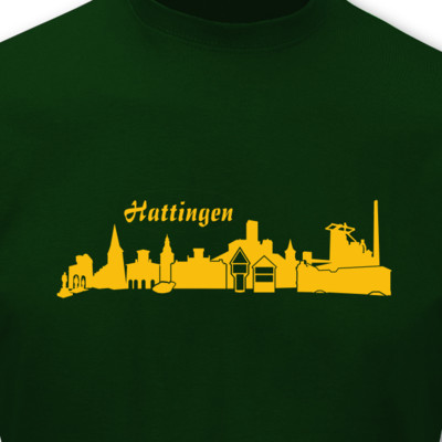 T-Shirt Hattingen Skyline T-Shirt