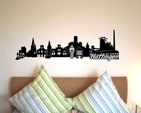 Hattingen Skyline Wandtattoo
