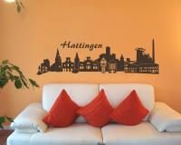 Wandtattoo Hattingen Skyline