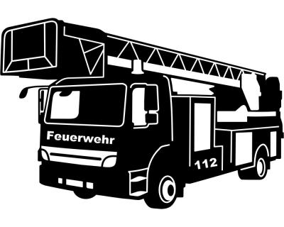 feuerwehr autoaufkleber plot4u. Black Bedroom Furniture Sets. Home Design Ideas