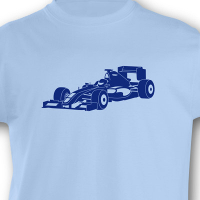 Kinder T-Shirt Rennwagen Kinder T-Shirt