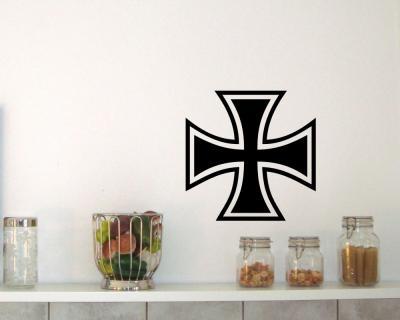 Wandtattoo eisernes kreuz motiv 2 iron cross wandaufkleber for Wandsticker jugendzimmer