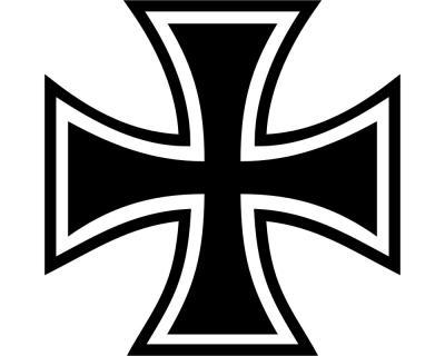 Wandtattoo Eisernes Kreuz Motiv 2 Iron Cross Plot4u