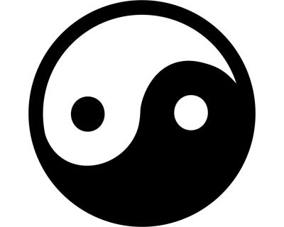 wandtattoo yin yang plot4u. Black Bedroom Furniture Sets. Home Design Ideas