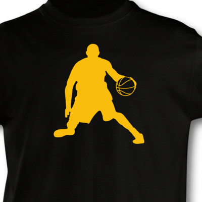 Kinder T-Shirt Basketball Spieler Kinder T-Shirt