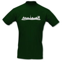 T-Shirt Paris Skyline T-Shirt Modellnummer 000782-902-430  grün/silber-metallic