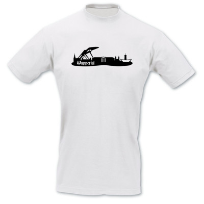 T-Shirt Wuppertal Skyline T-Shirt