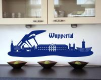 Wandtattoo Wuppertal Skyline