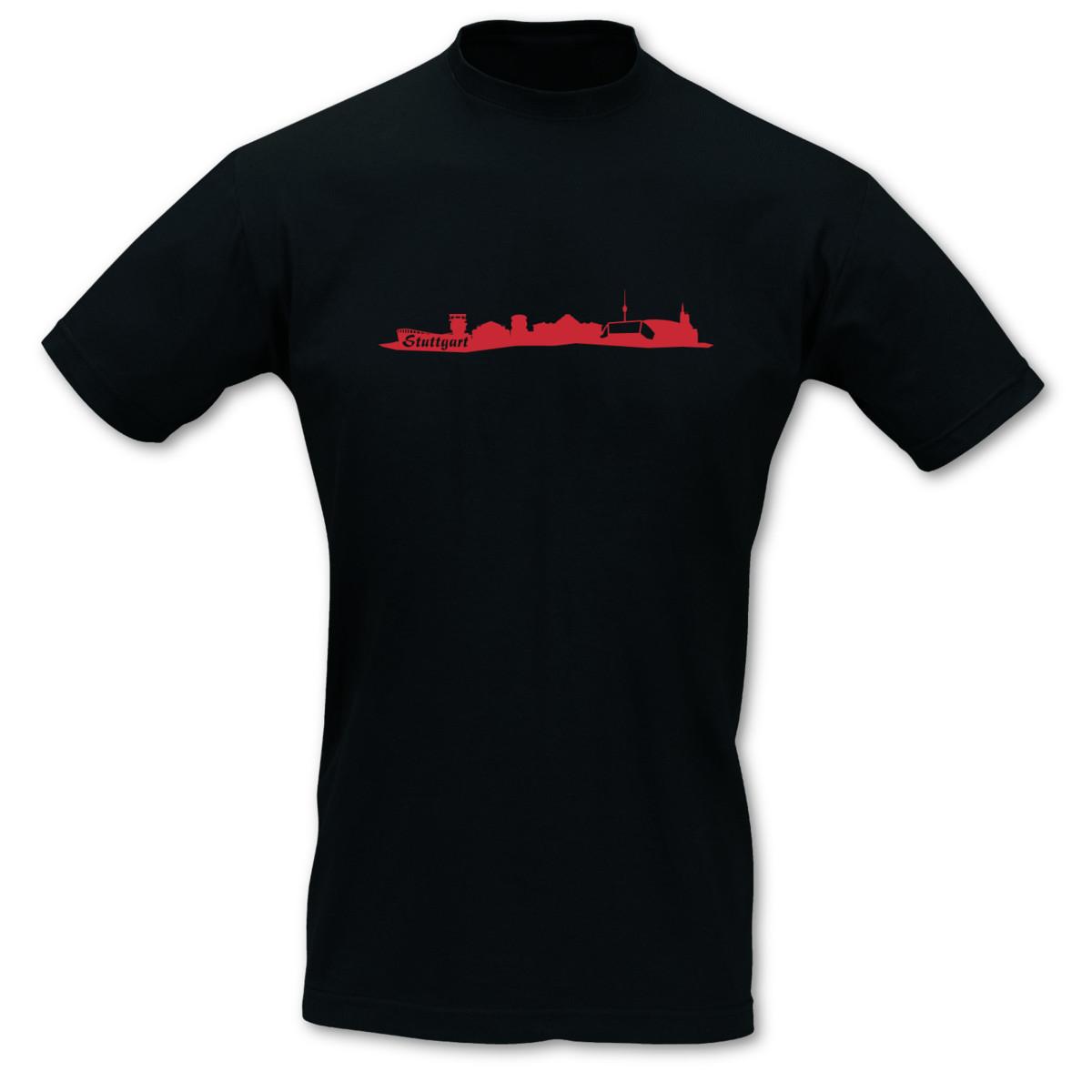 T-Shirt-Stuttgart-Skyline-8-Farben-S-5XL