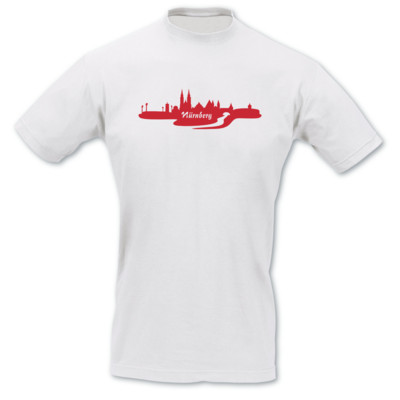 T-Shirt Nürnberg Skyline T-Shirt