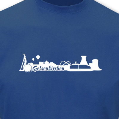 T-Shirt Gelsenkirchen Skyline T-Shirt