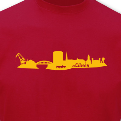 T-Shirt Lünen Skyline T-Shirt