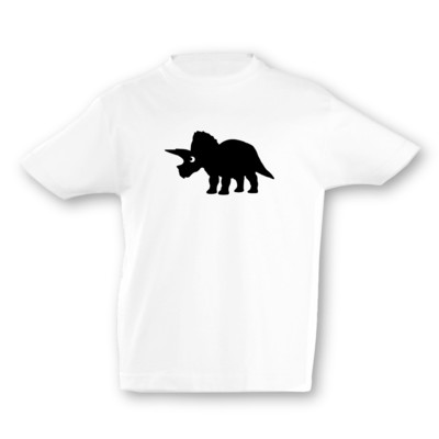 Kinder T-Shirt Triceratops Dino