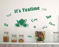 Wandtattoo Küche 'It's Teatime'
