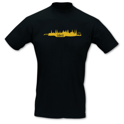 T-Shirt Lübeck Skyline T-Shirt