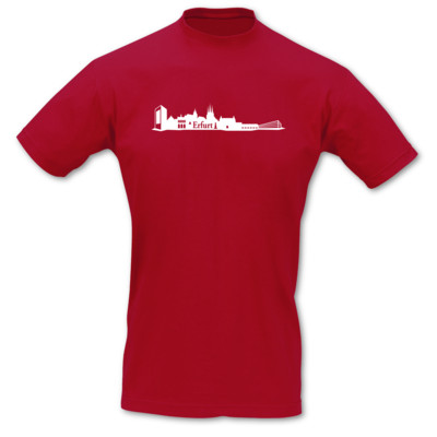 T-Shirt Erfurt Skyline T-Shirt