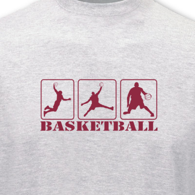 T-Shirt Basketballspieler T-Shirt