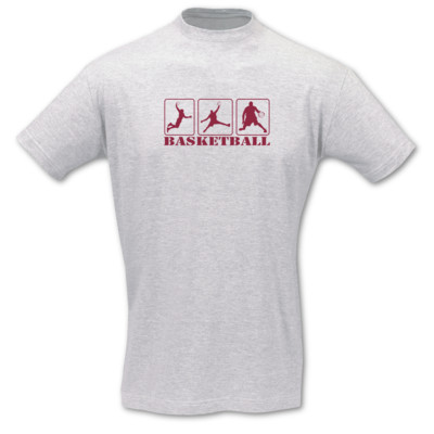 T-Shirt Basketballspieler