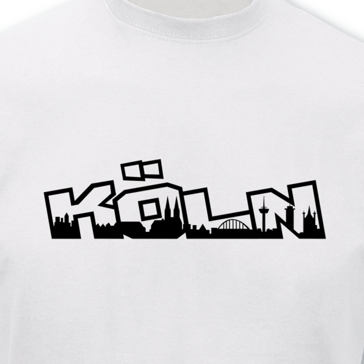 t shirt k ln schriftzug skyline graffiti 8 farben s 5xl ebay. Black Bedroom Furniture Sets. Home Design Ideas
