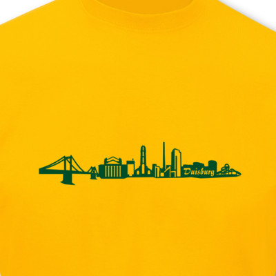T-Shirt Duisburg Skyline T-Shirt