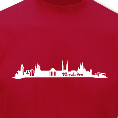 T-Shirt Wiesbaden Skyline T-Shirt