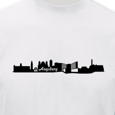 T-Shirt Augsburg Skyline T-Shirt