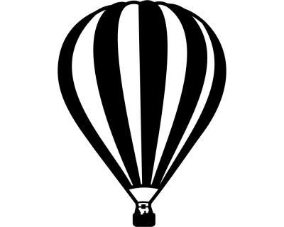 Wandtattoo ballon montgolfier wandaufkleber plot4u - Wandtattoo ballon ...