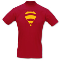 "T-Shirt ""Madame Thible"" T-Shirt Modellnummer 000957-904-410  rot/goldgelb"