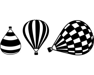 Hei luftballon wandtattoo ballon 3er set plot4u - Wandtattoo ballon ...