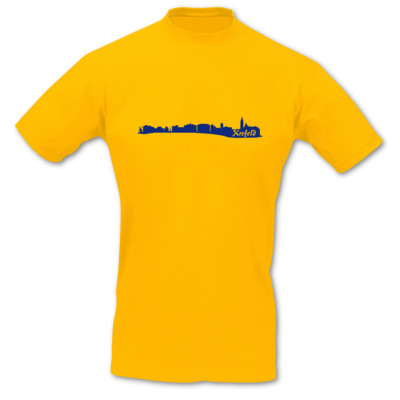T-Shirt Krefeld Skyline T-Shirt