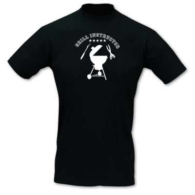 T-Shirt 'Grill Instructor' 5 Sterne