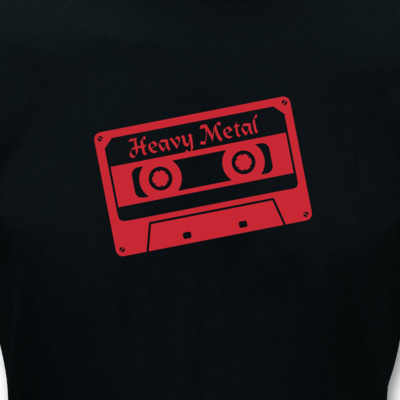 T-Shirt Heavy Metal Cassette T-Shirt
