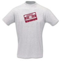 "T-Shirt Cassette ""Country"" T-Shirt Modellnummer 000989-901-409  ash/bordeaux"