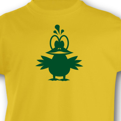 Kinder T-Shirt Tollpatsch Vogel Kinder T-Shirt