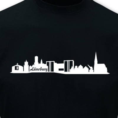 T-Shirt Lüneburg Skyline T-Shirt