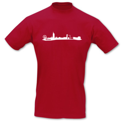 T-Shirt Wien Skyline