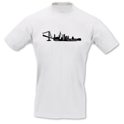 T-Shirt San Francisco Skyline T-Shirt
