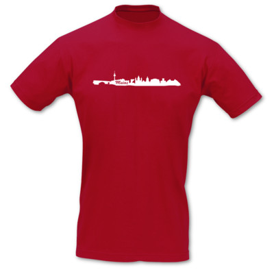T-Shirt Mainz Skyline