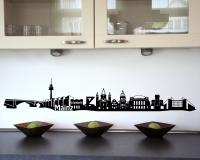 Wandtattoo Mainz Skyline