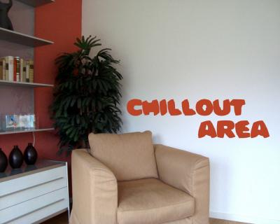 "Wandtattoo ""Chillout Area"" Wandtattoo"