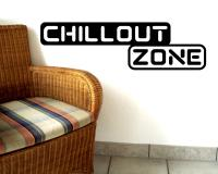 Wandtattoo 'Chillout Zone'