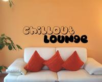 Wandtattoo 'Chillout  Lounge'