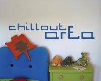 Wandtattoo 'Chillout Area' Motiv 3